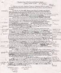 the how to s of ap lang how to annotate if you look at my annotations from barack obama s martin luther king memorial dedication speech you will