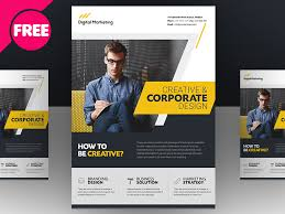 Business Flyer Template Free Download Free Psd Creative And Corporate Market Flyer Template By