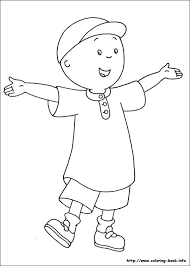 Caillou Coloring Picture Coloring Pages Coloring For Kids