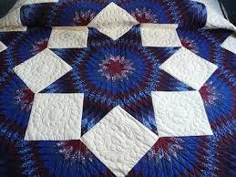 Amish Handmade and Patchwork Quilts for Sale   Amish Spirit & Amish Handmade Quilt Broken Star Pattern Adamdwight.com