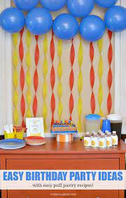 easy home made birthday decorations