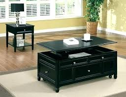 decoration coffee table top lift lifting espresso with new caspian up storage shelf
