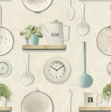 washable and durable wallpaper for kitchens