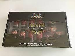 Valspar House Of Kolor Military Paint Assortment 8 Colors Ebay