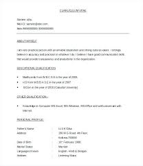 Professional Resume Formats Free Download Free Download The Marketer