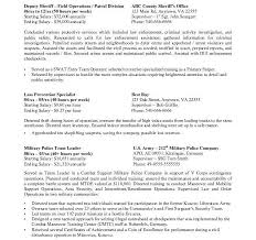 Federal Resume Services