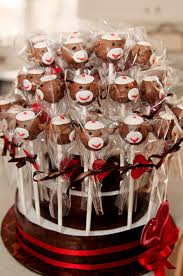 Bargain Party Decorations Sock Monkey Cake Pops Pinned It From Bargain Hoots Party Ideas