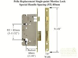 Pella Storm Door Lock Mortise Locks Unique Handles With Replacement All About