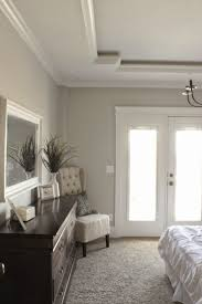 Tray Ceiling Bedroom Unique Tray Ceiling Sherwin Williams Repose Gray