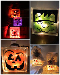 fall glass block craft ideas