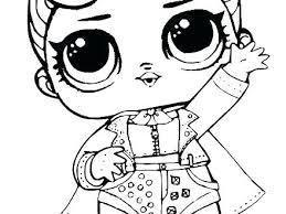 Lol Doll Coloring Pages Pets Luxe Free Photographs Fresh 5 Alluring