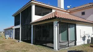 aluminum screened patio enclosures