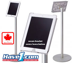 Product Display Stands Canada iPad and Tablet Floor and Tabletop stands and secure enclosures 52