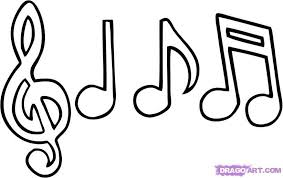 musical note coloring sheet musical notes coloring pages printable coloring pages