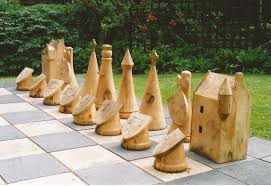 Diy Outdoor Games Diy Outdoor Chess Pieces Google Search Landscape Architecture