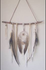 How Are Dream Catchers Made A feminine and bohemian dream catcher made of layers of deerskin 93