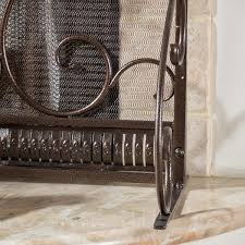 christopher knight home claridge iron fireplace screen free today com 16762756