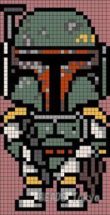Star Wars Perler Bead Patterns New Boba Fett Star Wars Perler Bead Pattern BEADSTokyo Patterns