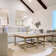 barley twist coffee table living room