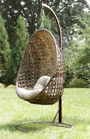 home design ty pennington style mayfield hanging chair with stand outdoor hanging outdoor chair