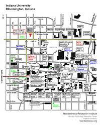 indiana university campus map  afputracom