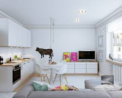Decorating Open Floor Plan Living Room and Kitchen with Small Open ...