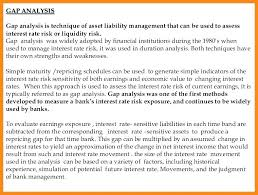 Liquidity Gap Analysis Template – Kensee.co