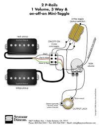 pickup wiring diagram single pickup guitar wiring diagram guitar wiring diagram guitar wiring diagrams vol and pots seymour duncan p rails wiring diagram 2 p