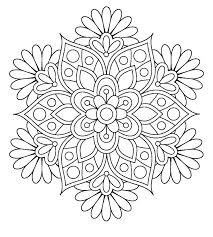 Spring Mandala Coloring Pages Kids Mandala Coloring Pages Unique
