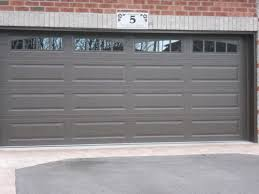 brown garage doors with windows. Doors Barrie Newmarket Garage Northern Comfort With Modern Concept Brown Windows