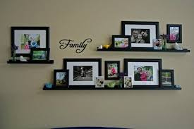 Using Frames Frame Shelves Ikea Ideas Wall Decor Dma Homes 76113 Throughout  Wall Photo Frame Collage Plan