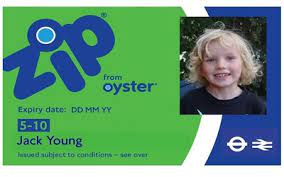 5 10 zip oyster photocards transport
