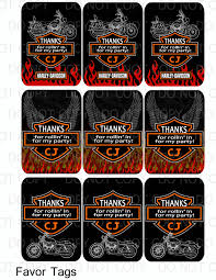 Harley Davidson Party Decorations Amazoncom Single Source Party Supplies 25 Harley Davidson