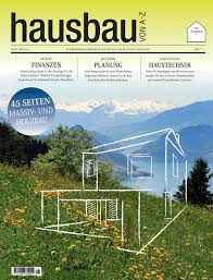 Hausbau Von A Z 2017 By Bl Verlag Ag Issuu