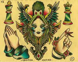 Traditional tattoo wallpaper ...
