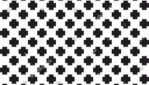 Batik Tile Flower Design Cdr Pattern Illustrator Flowers Plus Vector