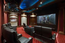 Home game room Gamer Don Pedro Elan Transforms Golf Simulator Game Room Into Home Theater With