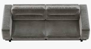 Leather Couch Restoration Restoration Hardware Durrell Leather Sofa 3d Model Max Obj Fbx Mtl