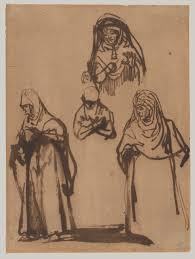rembrandt van rijn prints essay heilbrunn study sheet three women and a boy