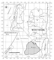 Pollution effects of the wastewater flow on the groundwater quality in wadi samen catchment hebron palestine