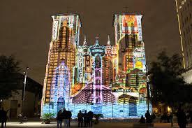 San Fernando Cathedral Light Show Times 2019 Day Trips San Antonio The Saga Multimedia Show Paints