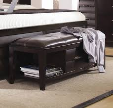 bedroom storage bench. Full Size Of Bedrooom:bedrooom Contemporary Leather Storage Bench Benches Foroom Creative Designs Canada Large Bedroom E