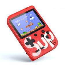 Máy chơi game cầm tay mini chứa 400 trò chơi trong 1 màn hình 3.0 inch kết  nối AV TV có trò Mario Bomberman kiểu retro - Phụ kiện Gaming