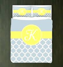 yellow daybed cover modern covers sets blue and bedding grey white duvet set personalized monogram initial