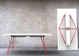 Stackable folding table LUCY By Johanson Design design Alexander Lervik