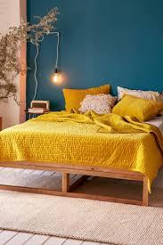 bedroomappealing geometric furniture bright yellow bedroom ideas. le beau mariage du jaune moutarde et bois clair bedroomappealing geometric furniture bright yellow bedroom ideas e