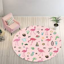 pink holiday round flamingo area rug flamingo rugs with free for home decor