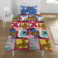 Scooby Doo Bedroom Accessories New Girls Disney And Tv Character Single Duvet Quilt Cover With