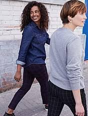 Узкие <b>брюки</b> женщины | Kiabi