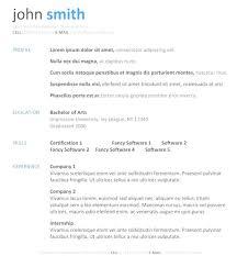 Australian Resume Builder Top Free Resume Templates Australia Download Australia